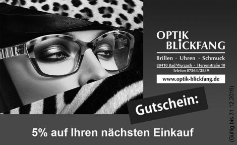 Optik-Blickfang Bad Wurzach